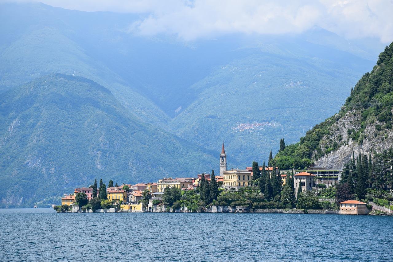 bici sul lago di Como